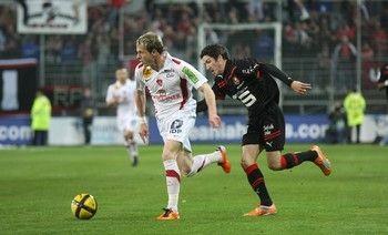 Nolan Roux, auteur d'un but phénoménal contre Rennes