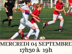 👋La section féminine du @SB29 organise  aujourd'hui une journée « détection »à destination des catégories U9 à U13.  Rendez vous à 17h30 au Complexe sportif...