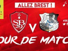 ❗JOUR DE MATCH ! 🔴⚪⚔ 🏆J21 - @Ligue1Conforama 🆚 @AmiensSC 🏟Stade Francis-Le Blé ⌚20h 📱 LT #SB29ASC 📻 Radio officielle @Francebleubzh 93.0...