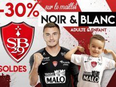 ❗ Les soldes d'hiver continuent jusqu'au 4 février ! Profitez d'une remise de 30% sur les maillots extérieurs des Brestois (taille adulte & enfant)....