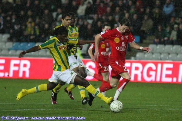 Nolan Roux à la Beaujoire contre Nantes