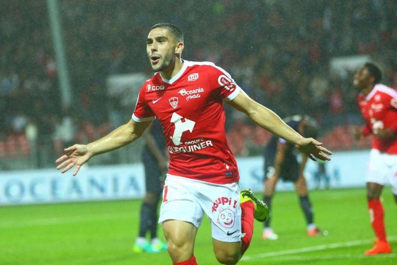 Maupay vient de marquer contre Reims